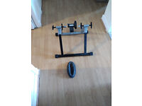 Pedal pro bike stand for indoor training