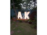 Giant 4ft Light Up Letters To BUY!! *£100*