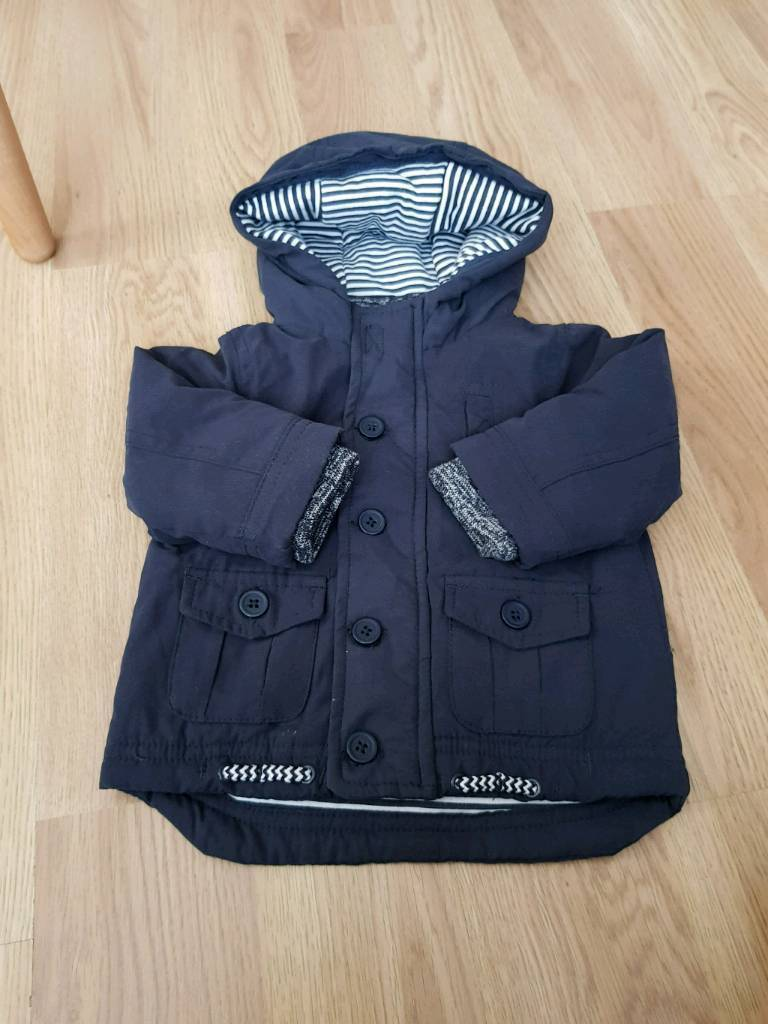 10ebd8b54 3-6 months navy blue baby coat brand new | in Leicester ...