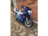 Very low mileage 1998 Suzuki gsxr Srad 600cc