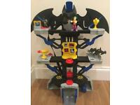 Fisher Price Imaginext Batcave, boxed, all parts included in pictures - I believe full set.