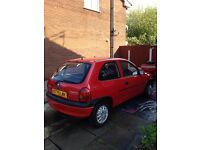 Corsa 1.2 Petrol Low Incurense