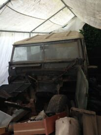 Land Rover series 3 1976 project