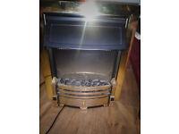 dimplex brass electric fire wht20
