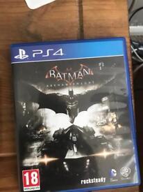 PS4 game batman Arkham knight