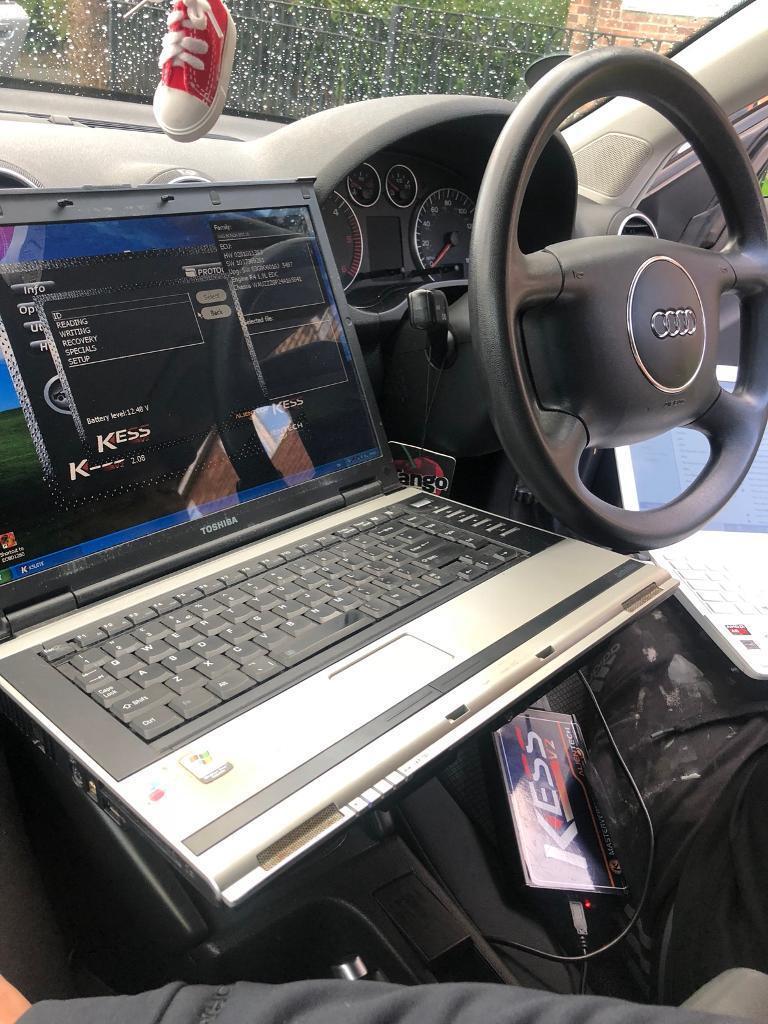 Mobile car/van full diagnostics DPF regeneration live data checks
