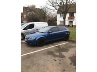 Audi A3 tdi 170 sport 2.0 tdi 2007 blue manual golf Leon gt tdi
