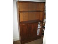 Solid wood beech bookshelf