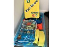 Kids swimming box