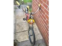 Boys Simpson's American chopper bike