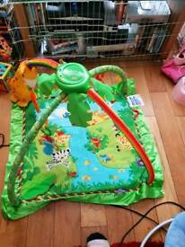 Fisher price playmat with carry plastic bag that came with it