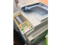 Ricoh Aficio MP C2500 copy machine