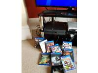1tb ps4 and many games. Full working order