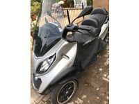2017 Piaggio MP3 Lt 500 ie Sport. Low mil, great condition