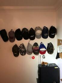 14 baseball caps For sale brands such as Nike Adidas and converse