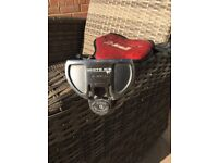 """Odyssey White Ice 2 Ball Putter, Left Hand 33"""" shaft ,Feeltech Grip.Exceptional condition."""