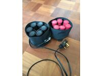 Heated Curling rollers by Nicky Clarke