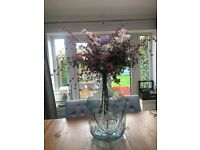 Beautiful vase and flowers