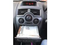 Renault megane CD player with code