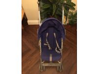 Red Kite 'Push Me2U' pushchair - very lightweight, great for travel