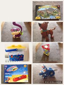 Various toys, £4 each or 3 for £10
