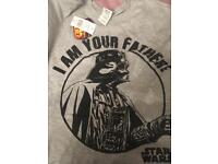 GENTS STAR WARS DARTH VADER T SHIRT