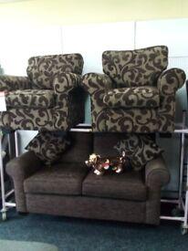 Sofology exdisplay sofa set