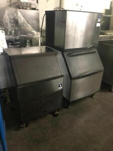 200 & 450 lb Manitowoc ice machines ( like new ) can ship any where in Canada ! Save $$$$