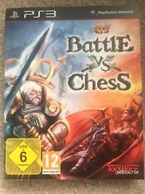 PS3 Battle vs Chess