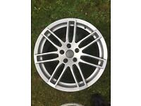 "Audi A4 RS4 18"" Alloy Wheels Alloys ET35 5 x 112"