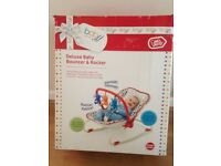 Deluxe Baby Bouncer & Rocker - in very good condition and in original box.