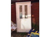 Brand new IG composite front door