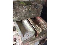 Reclaimed Imperial/Edwardian bricks x 140