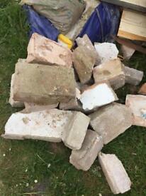 Free old blocks/rubble