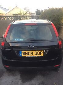 Ford Fiesta LX - Black - 1.2 litre, 5 door