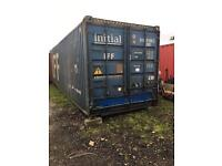 30ft storage container