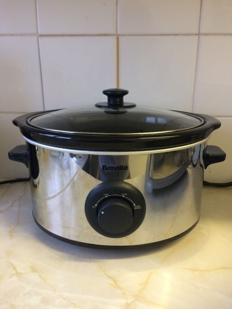 Breville Slow Cooker 3.5L, £5 Collection Only Please