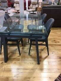 4 calligaris Colette dining chairs RRP £1040 for 4