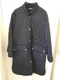 M&S ladies quilted coat