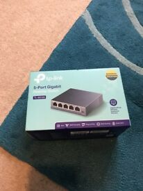 TP Link 5 port Gigabit Desktop Switch (TL-SG105)