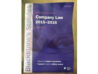 Blackstone's statutes in company law 2015-16