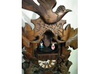 black forest musical weight driven cuckoo clock