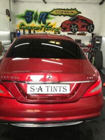 ***S & A CUSTOMS Tinting, 30 years experience 3 years WARANTY ON ALL WORK ,PRICES FROM £60***