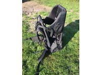 Child backpack carrier