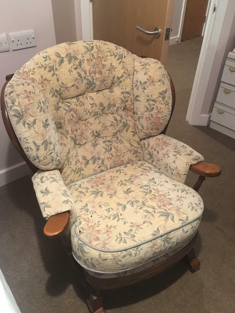 Extra Wide Rocking Chair Great Condition In Hull East Yorkshire