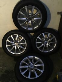 "Honda Civic 9th Gen 16""alloys and Tyres"