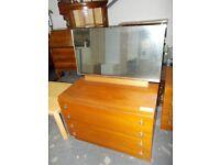 60s/70s...Teak Dresser...31337F...