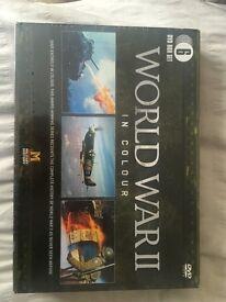 World War II in Colour 6 DVD Box Set *NEW SEALED*