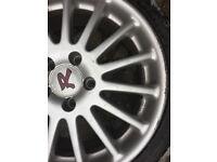 """Suzuki swift Alloy wheels 17 Nissan Almera Juke Primera Pulsar qashqai 5x114.3 """" inch alloys"""