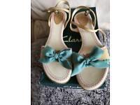 Pretty Clarkes sandals